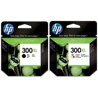 Original Multipack HP DeskJet 2418 Printer Ink Cartridges (2 Pack) -CC641EE