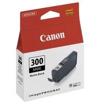 Canon PFI-300MBK Matte Black Original Ink Cartridge