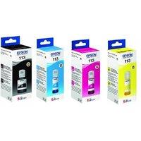 Original Multipack Epson EcoTank Pro ET-16680 Printer Ink Cartridges (4 Pack) -C13T06B140