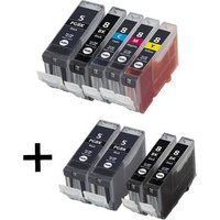 Compatible Multipack Canon Pixma MP960 Printer Ink Cartridges (9 Pack) -0620B001