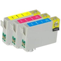 'Compatible Multipack Epson Stylus Office B1100 Printer Ink Cartridges (3 Pack) -c13t10034010