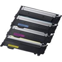 Compatible Multipack Samsung Xpress SL-C483W Printer Toner Cartridges (4 Pack) -CLT-K404S
