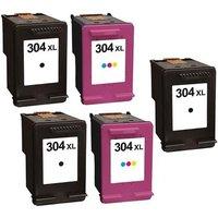 Compatible Multipack HP Envy 5055 Printer Ink Cartridges (5 Pack) -N9K08AE