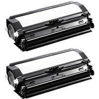 Compatible Twin Pack Dell 593-10840 Black Toner Cartridges (2 Pack)