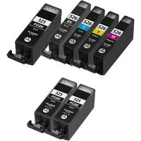 Compatible Multipack Canon Pixma MX890 Printer Ink Cartridges (7 Pack) -4540B004