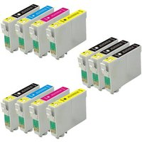 Compatible Multipack Epson Stylus Photo RX520 Printer Ink Cartridges (11 Pack) -C13T05514010