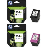 Original Multipack HP DeskJet 3700 All-in-One Printer Ink Cartridges (2 Pack) -N9K08AE