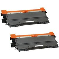 Compatible Multipack Brother Fax-2490 Printer Toner Cartridges (2 Pack) -TN2220