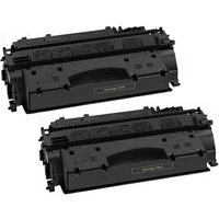 Image of Compatible Multipack Canon i-SENSYS LBP-6680dx Printer Toner Cartridges (2 Pack) -3480B002AA