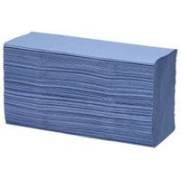 Maxima Z Fold Hand Towel Blue 1ply (Pack of 15)