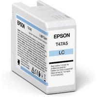 Epson T47A5 (T47A500) Light Cyan Original UltraChrome Ink Cartridge (50ml)
