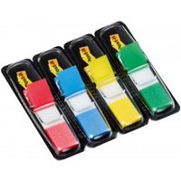 Post-it Index Flags 12mm 140 Tabs 4 Assortd Colours