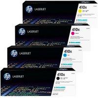 Original Multipack HP Colour LaserJet M477fdw Printer Toner Cartridges (4 Pack) -CF410X