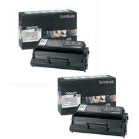 Lexmark 08A0478 Black Original Toners Twin Pack (2 Pack)