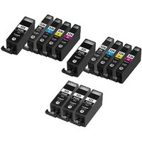 Compatible Multipack Canon Pixma MG6200 Printer Ink Cartridges (13 Pack) -4529B001