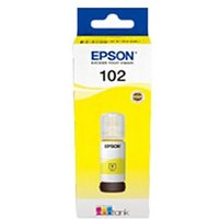 Epson 102 Yellow Original Ecotank Ink Bottle (C13T03R440)