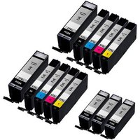 Compatible Multipack Canon Pixma TS5000 Printer Ink Cartridges (13 Pack) -0331C001