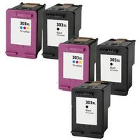 Compatible Multipack HP Tango 100 Printer Ink Cartridges (5 Pack) -T6N04AE