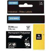 Dymo 1734523 (S0773830) Original Label Tape (24mm x 5.5m) Black On White
