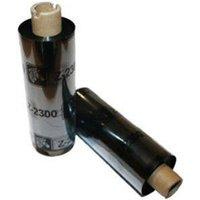 Zebra 02300GS08407 Original Wax Printer Ribbon 2300 (84mm x 74m)