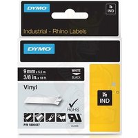 Dymo 1805437 Original Label Tape (9mmx5.5m) White On Black
