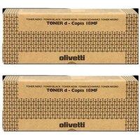 Olivetti B0526 Black Original Toners Twin Pack (2 Pack)