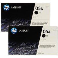 Original Multipack HP LaserJet P2055d Printer Toner Cartridges (2 Pack) -CE505A