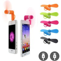 Portable Mini Mobile Fan Compatible with Android and Iphone