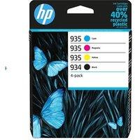 HP 934/935 Black and Colour Original Standard Capacity Ink Cartridge Multipack (6ZC72AE)