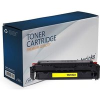 Compatible Yellow HP 415A Standard Capacity Toner Cartridge (Replaces HP W2032A)