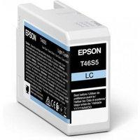 Epson T46S5 (T46S500) Light Cyan Original UltraChrome Ink Cartridge (25ml)