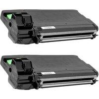 Compatible Multipack Ricoh SP 3710SF Printer Toner Cartridges (2 Pack) -407340