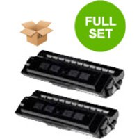 Compatible Multipack Xerox 4508 Printer Toner Cartridges (2 Pack) -113R00123