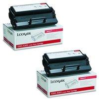 Lexmark 08A0477 Black Original Toners Twin Pack (2 Pack)