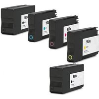 Compatible Multipack HP OfficeJet Pro 8718 Printer Ink Cartridges (5 Pack) -L0S70AE