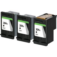 Compatible Black HP 304XL High Capacity Ink Multipack (Replaces 3 x N9K08AE + 1 x Printhead)