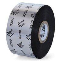 Zebra 03200BK06030 Original Wax/Resin Printer Ribbon 3200 (60mm x 300m)