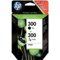 HP 300 Black and Colour Original Inkjet Print Cartridge Combo Pack