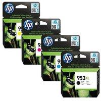 Original Multipack HP OfficeJet Pro 8718 Printer Ink Cartridges (4 Pack) -L0S70AE