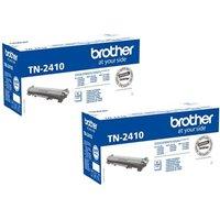 Brother Black TN2410 Original Toners Standard Capacity Twin Pack (2 Pack)