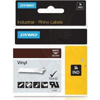 Dymo 1805412 Original Label Tape (12mmx5.5m) White On Brown