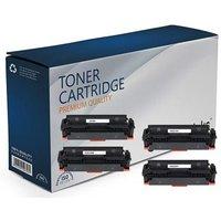 Compatible Multipack HP Colour LaserJet Pro M479fnw Printer Toner Cartridges (4 Pack) -W2030X