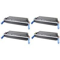 Compatible Multipack HP Colour LaserJet 4650 Printer Toner Cartridges (4 Pack) -C9720A