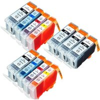 Compatible Multipack Canon SmartBase MP730 Printer Ink Cartridges (11 Pack) -4479A002