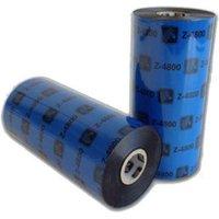 Zebra 04800BK15645 Original Resin Printer Ribbon 4800 (156mm x 450m)