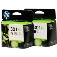 Original Multipack HP DeskJet 2060 Printer Ink Cartridges (2 Pack) -CH563EE