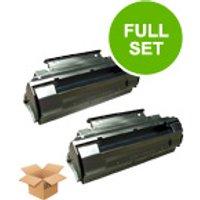 Compatible Multipack Panasonic DX-600 Printer Toner Cartridges (2 Pack) -UG-3350