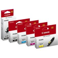 Image of Original Multipack Canon Pixma MG5550 All-in-One Printer Ink Cartridges (5 Pack) -6496B001