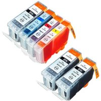 Compatible Multipack Canon MultiPass MPC600F Printer Ink Cartridges (6 Pack) -4479A002