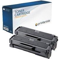 Compatible Multipack HP LaserJet MFP 135w Printer Toner Cartridges (2 Pack) -W1106XX